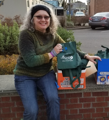 AFSCME Local 2975 Lunch Sack Day