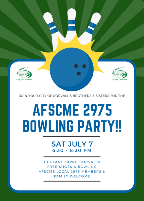 AFSCME 2975 Bowling Party